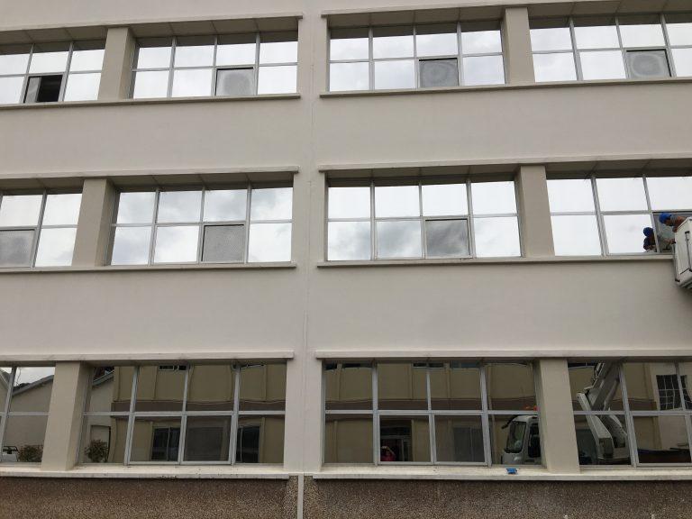 travaux d'aménagement, Films solaire, Lorentz à Sézanne dans la Marne, 51