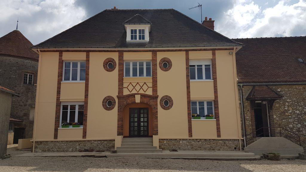 Ravalement de façade, entreprise de peinture Lorentz à Sézanne, Marne